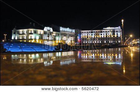 Minsk at night.