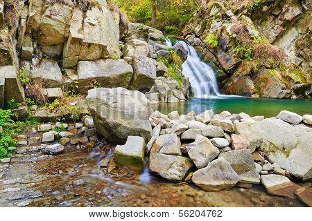 The Zaskalnik Waterfall