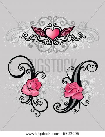 Glamour Design Elements