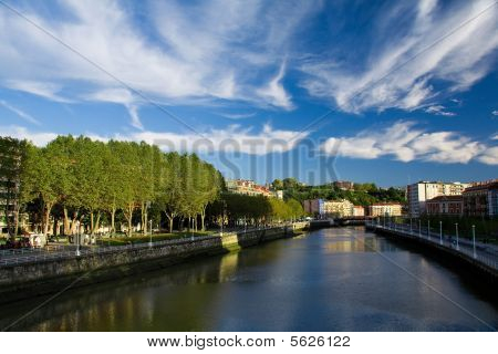 River And Sky