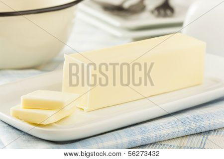 Organic Dairy Yellow Butter