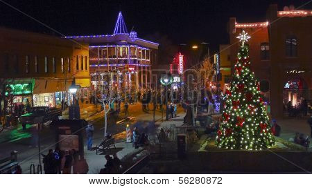 An Historic Downtown Flagstaff, Arizona, New Year's Eve