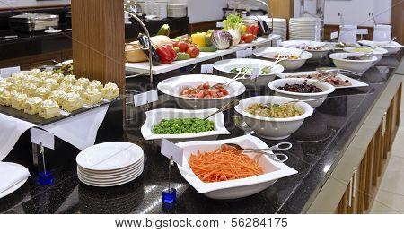 Smorgasbord - Food Choice In A Restaurant