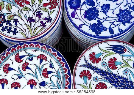 Beautiful Turkish Tile Plates