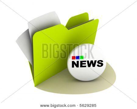 Botón de noticias