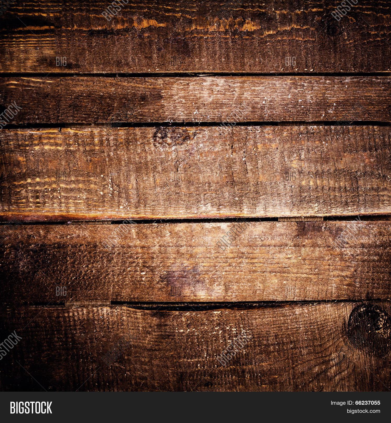 horizontal wood background. Dark Wood Texture. Grunge Wooden Background. Old Textured Table, Horizontal Planks Background B