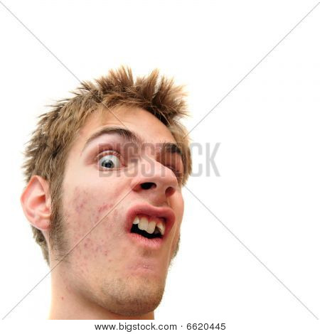 Weird Facial Expression