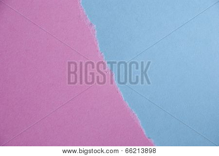 Blue And Pink Paper Background