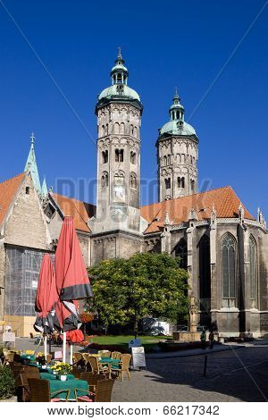 St. Peter And Paul Cathedral In Naumburg City, Saxony-anhalt, Germany