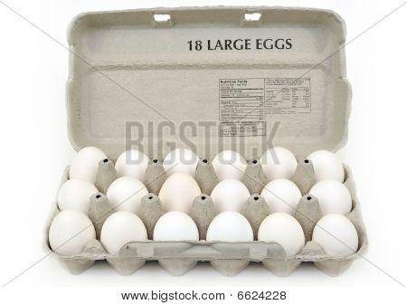 Carton Of Large Eggs