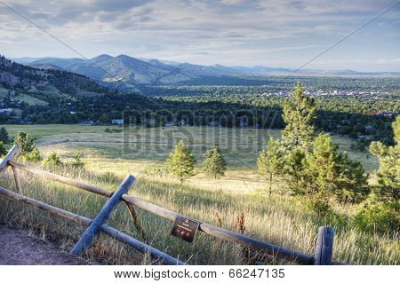 Nature Trail in Boulder Colorado