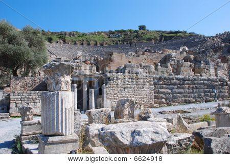 Odeon At Ephesus