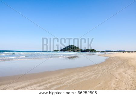 Beach Of Bertioga (brazil)