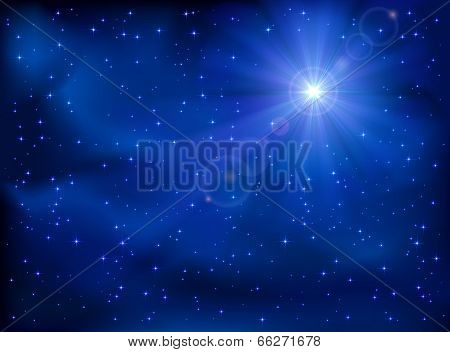 Star in the sky