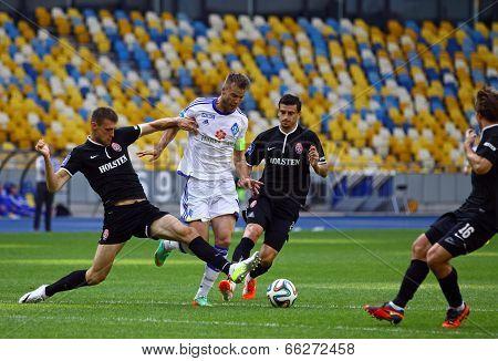 Football Game Fc Dynamo Kyiv Vs Zorya Luhansk