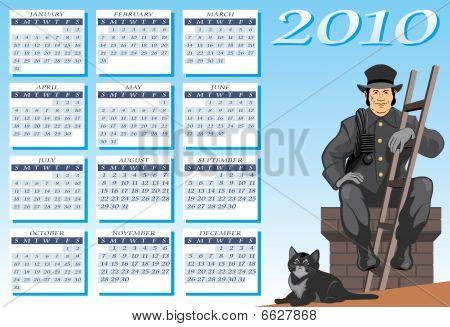 The chimney sweep calendar