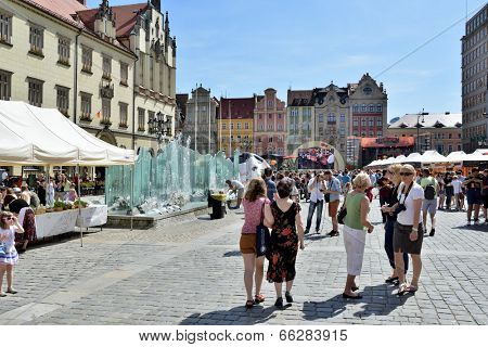 WROCLAW, POLAND - JUNI 7:  In the event