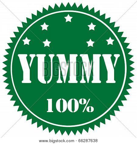 Yummy-label