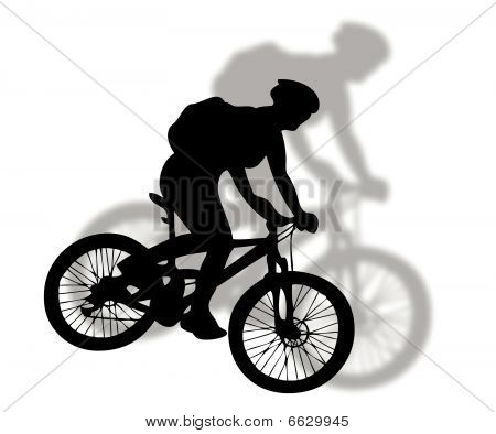 Mountain-Bike-Silhouette
