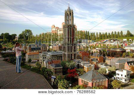Miniature city Madurodam, The Hague, Netherlands