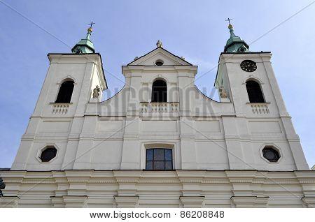 Church Of The Holy Cross In Rzeszów, Poland.
