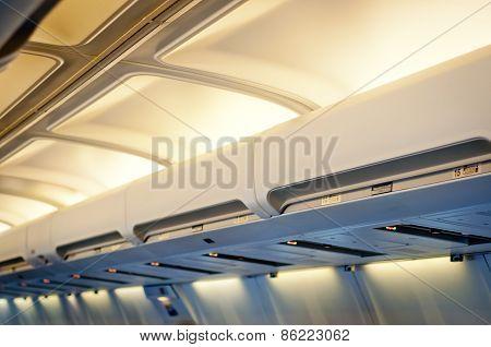 Airplane Interior Detail.