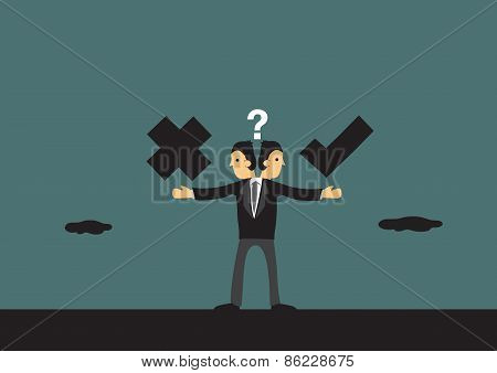 Business Ethics Conceptual Vector Illustration