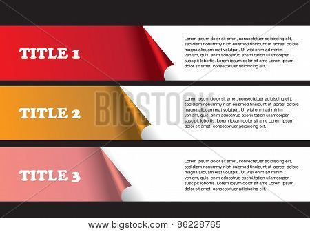 Page Layout Design Of Peel Off Stickers
