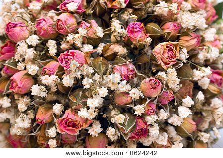 Dried Wedding Bouquet