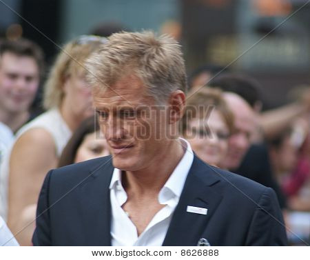 Dolf Lundgren at The Expendables