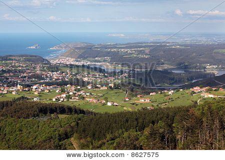 Coast Villages In Asturias, Spain