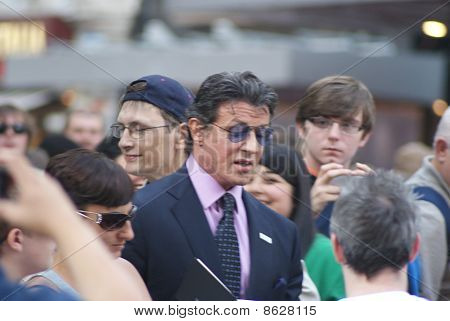 Sylvester Stallone at The Expendables