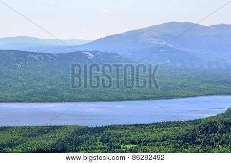 Mountainous Lake