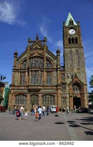 Guild hall Derry