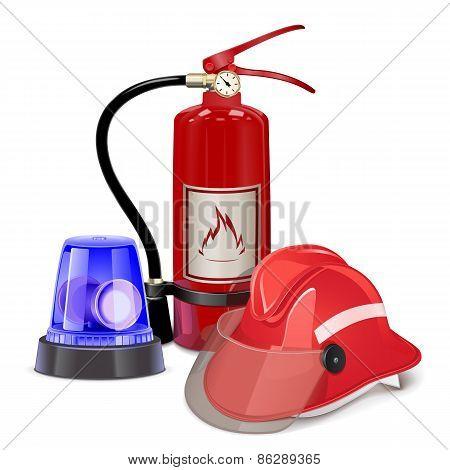Vector Fire Prevention Concept
