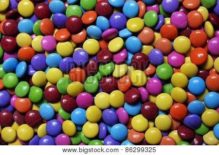 Colorful bonbons