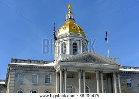 New Hampshire State House, Concord, NH, USA