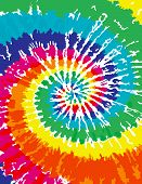 A very colorful Tie Dye Swirl Background poster