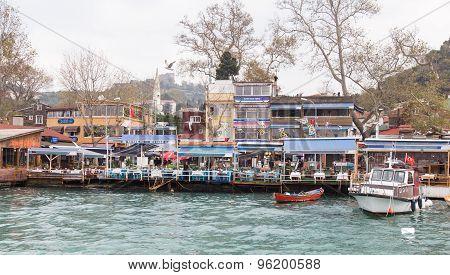 Fish Restaurants In Rumelikavagi, Istanbul