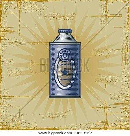 Retro Lemonade Can