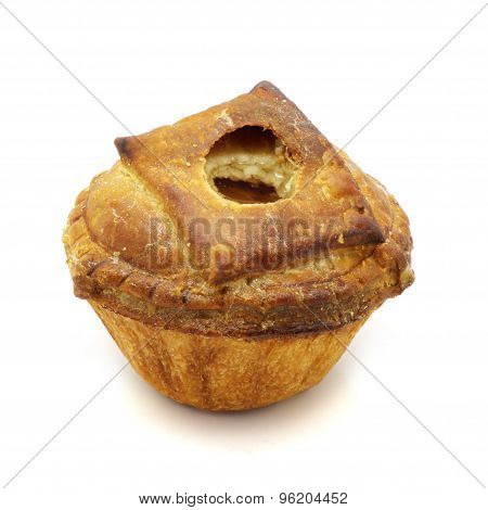 Meat Pie Isolated