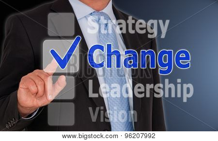 Change - Business Concept