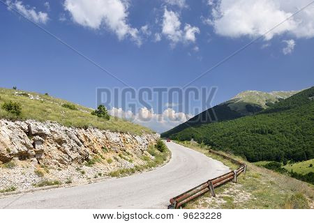 Galicica Mountain