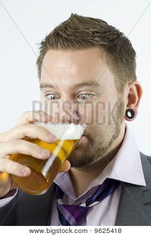 Staring At Beer