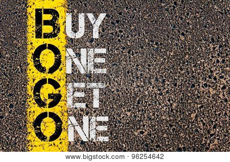 Business Acronym Bogo As Buy One Get One