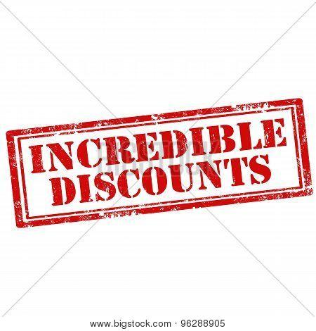 Incredible Discount