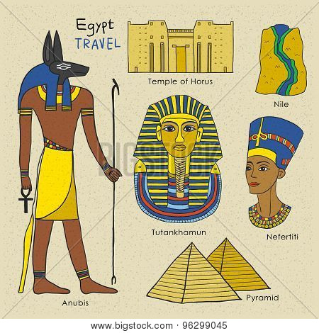 Travel Concept Of Egypt