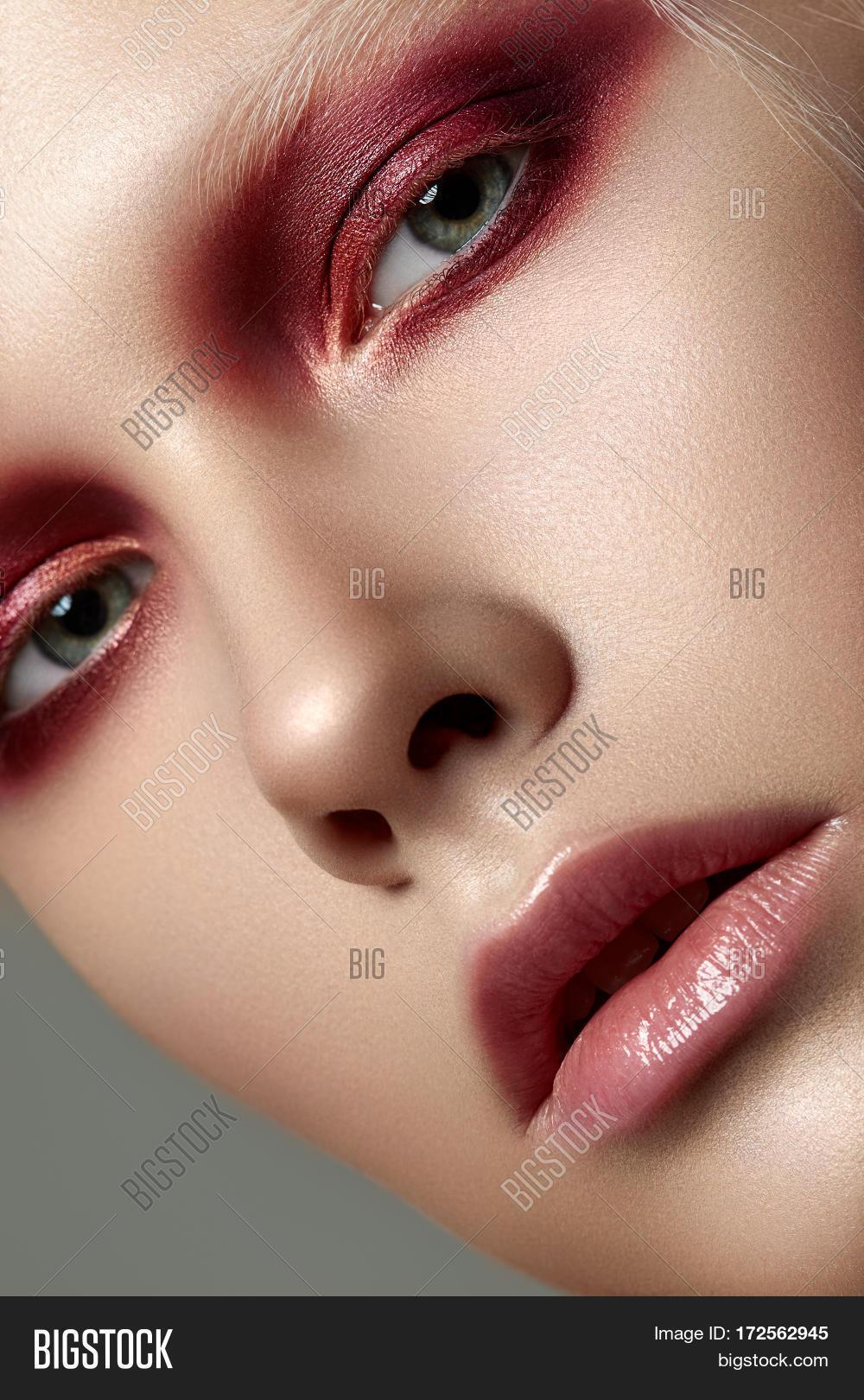 Close Beauty Portrait Image Photo Free Trial Bigstock