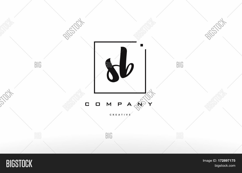 Sb S B Hand Writing Vector & Photo (Free Trial)   Bigstock