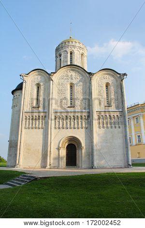 Cathedral Of Saint Demetriusin In Vladimir